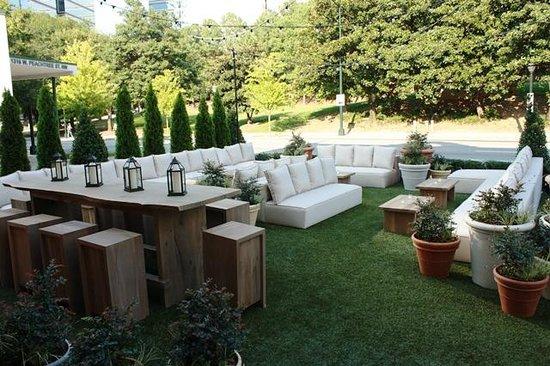 Artmore Hotel: Artmore Cocktail Garden