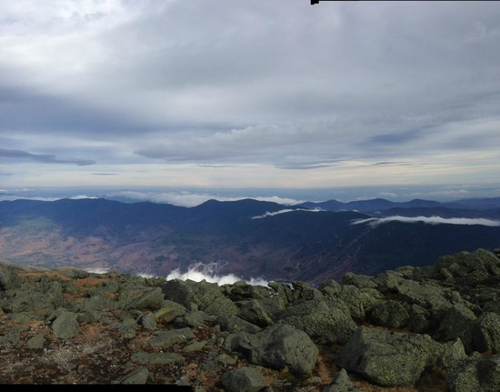 Mount Washington Observatory Weather Discovery Center: Vista parcial desde o Monte Washigton