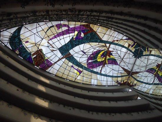 Hotel Rabat : o teto do hall