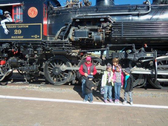 Grand Canyon Railway: Pumkin Train Ride
