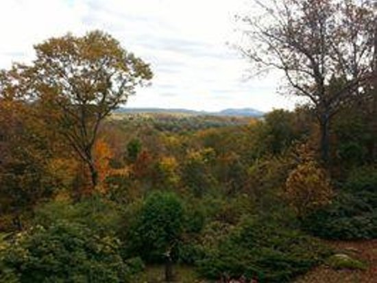 Poetry Ridge Bed and Breakfast: Fall foliage view