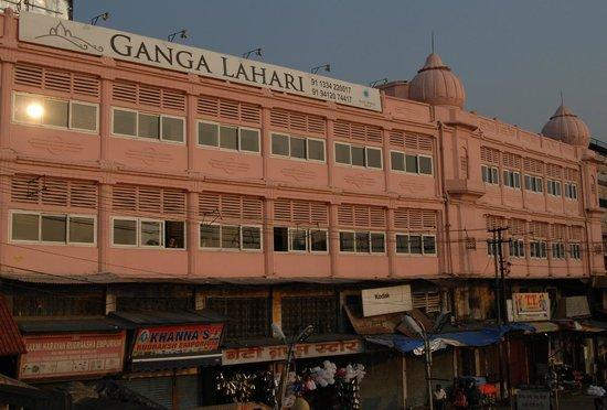 Ganga Lahari view from ghats