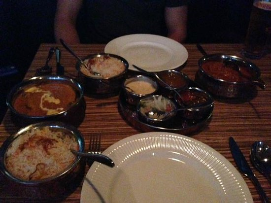 Javitri: Lamb korma and others
