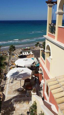 Delfino Blu Boutique Hotel: Daytime view from Garden Studio