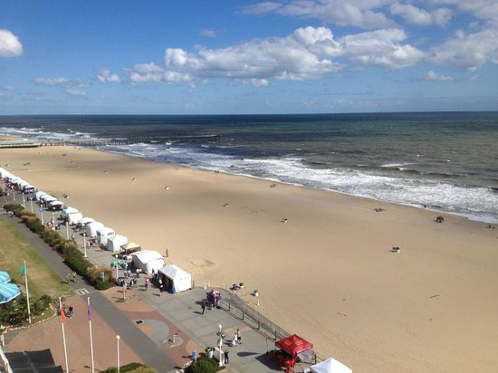 Hampton Inn Virginia Beach-Oceanfront South: View from the room!