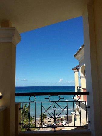 Delfino Blu Boutique Hotel: Sea view