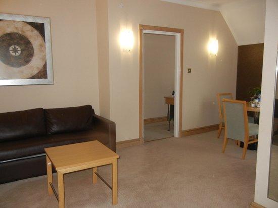 Hilton York: My suite