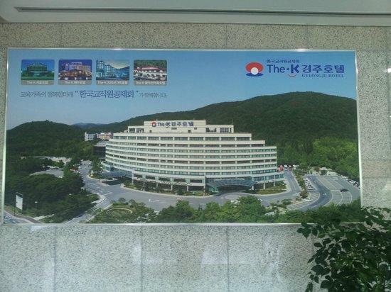 The-K Gyeongju Hotel: Außenansicht