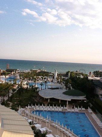 Delphin Imperial Hotel Lara : uitzicht vanuit de kamer