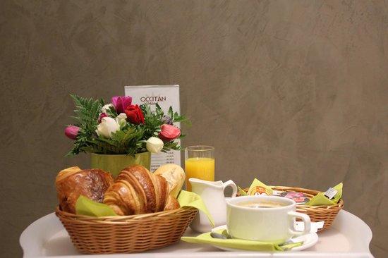 Hotel Occitan: petit dejeuner
