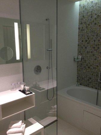 Grand Hotel Grenoble Centre : Bath