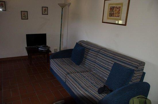 Castellare di Tonda Resort & Spa: canapé lit