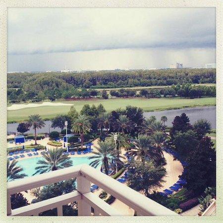 The Ritz-Carlton Orlando, Grande Lakes: View from 6th floor