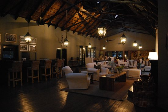 Mushara Lodge: sala