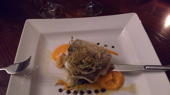 The Boat Hotel: Fillet of Hake from Table d'Hote menu