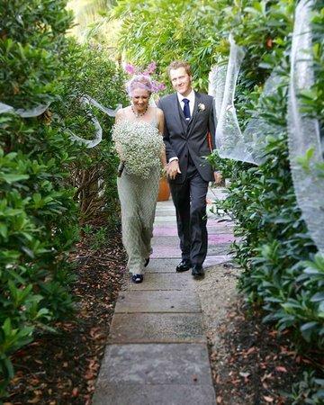 Hotel Biba: Hidden pathways through the garden