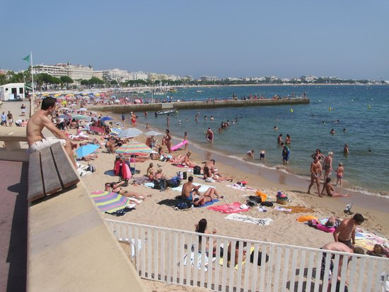 Plage Macé: You have to go for a swim