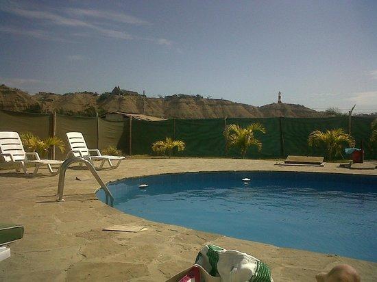 Hospedaje Mancora y Sol : am Pool