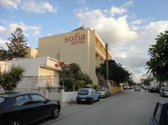 Sofia Hotel: street view