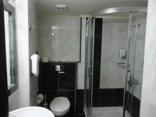 Sofia Hotel: shower