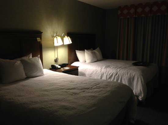 Hampton Inn & Suites Columbus Polaris: Beds