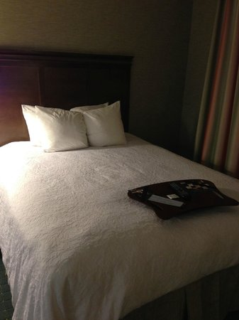 Hampton Inn & Suites Columbus Polaris: Bed