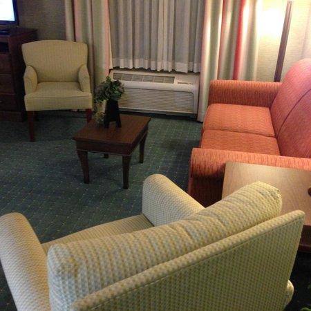 Hampton Inn & Suites Columbus Polaris : Sitting area