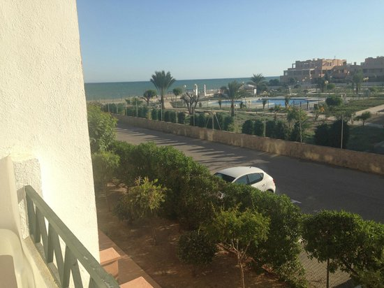 Vera Playa Club Hotel : Blick vom Zimmerbalkon gen Westen