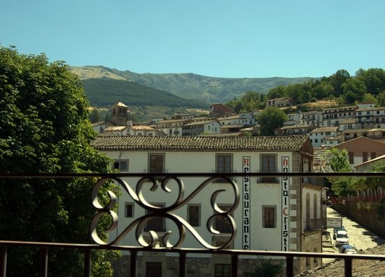 Casa Rural de La Panaderia: vistas desde el salón