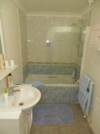 Moreton House: Bathroom to Blue room