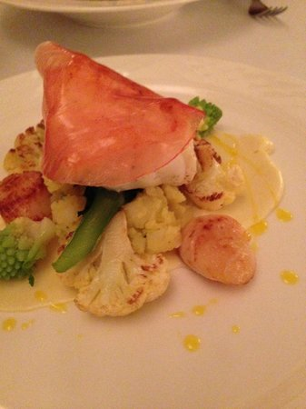The Dining Room: Monkfish