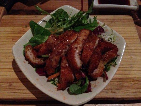 Shabu Shabu - Rotterdam Center: Grilled chicken salad