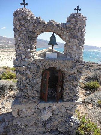 Plage d'Elafonissi : little church