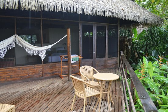 Lapa Rios Ecolodge Osa Peninsula: Our wonderful deck and hammock