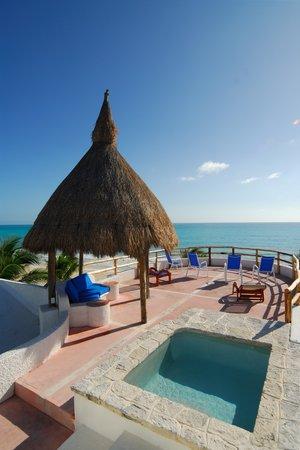 Villa Angela: Mariposa private terrace