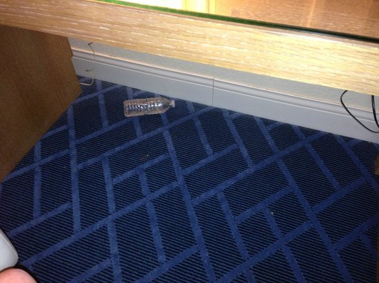 Sheraton Lake Buena Vista Resort: Found trash under the desk.