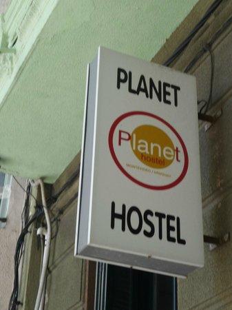 Planet Hostel: outside