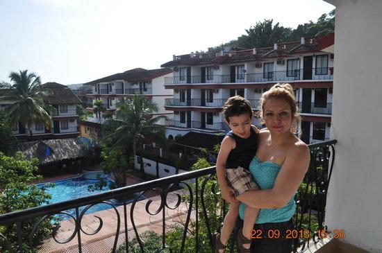Pride Sun Village Resort and Spa: balkoni veiw
