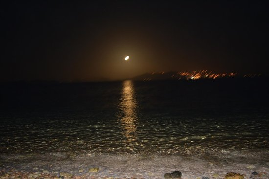Sapphire Beach Resort: Moonlit night -  view from the Condo