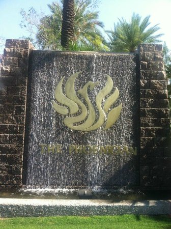 The Phoenician, Scottsdale: The entrance of the Phoenician