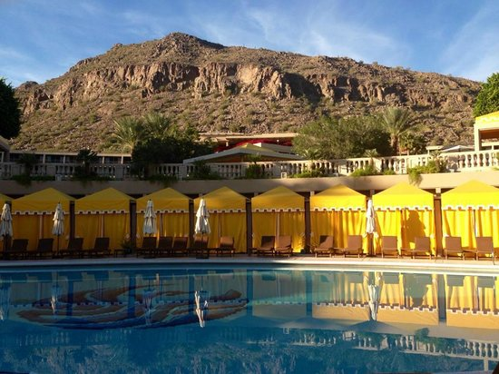 The Phoenician, Scottsdale: a pool with a great view