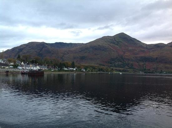Inn at Ardgour: Arriving on the ferry