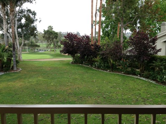 Morgan Run Club & Resort: A view of the golf course from my room/balcony.
