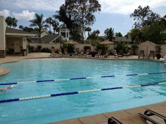 Morgan Run Club & Resort : Yes I swam in the pool, it was perfect.