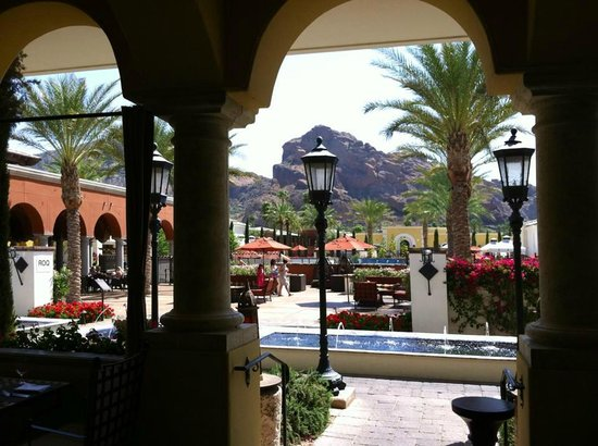 Omni Scottsdale Resort & Spa at Montelucia: from the Prado Restaurant to the pool