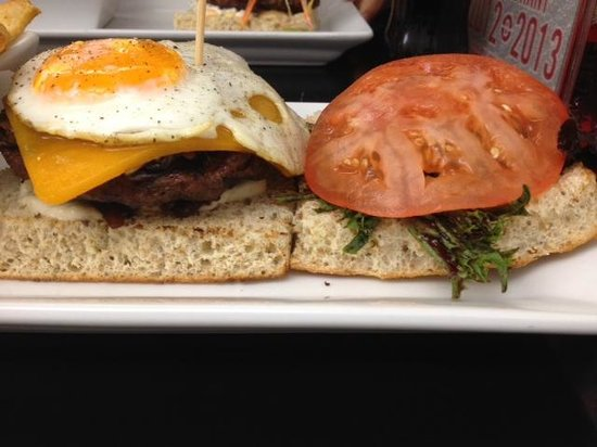 Nuburger: The Donald burger with egg...delicious