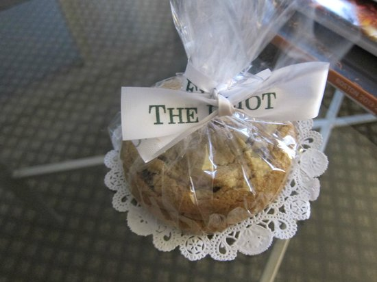 Eliot Hotel: Welcome Gift- Cookies