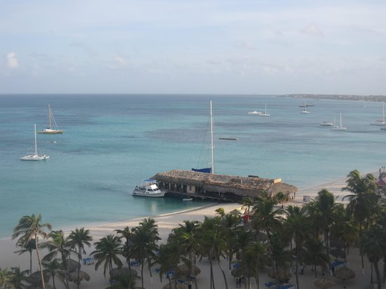 Hotel Riu Palace Aruba: view from our balcony