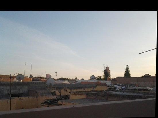 Riad Agdim: Vista desde la terraza