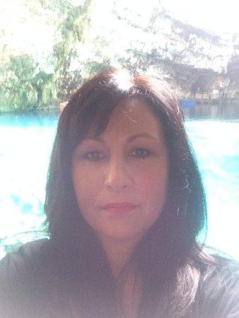 Sotiris Studios: Me at Melissani lake near Sami